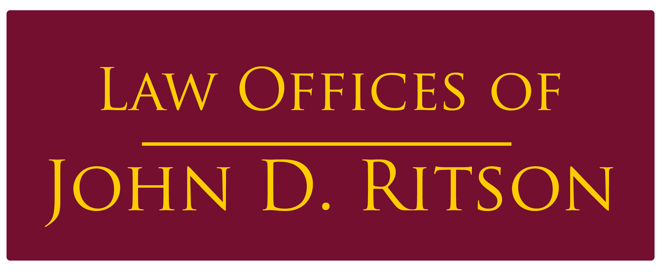 Law Offices of John D. Ritson